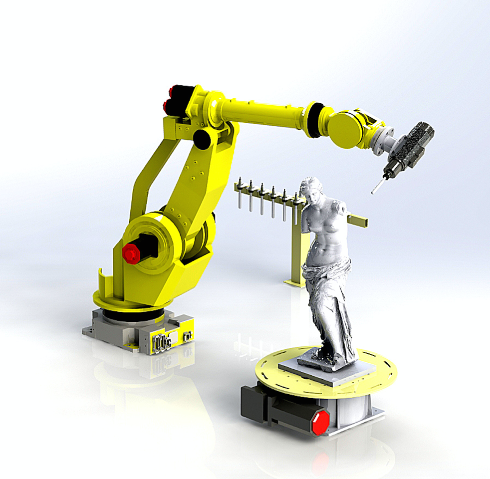 ROBOTS FOR THE MILLING PROCESS