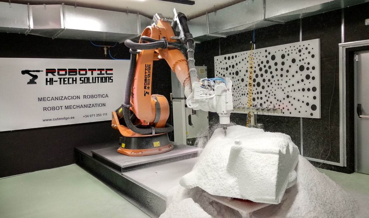 ROBOTIC MACHINING AND MILLING