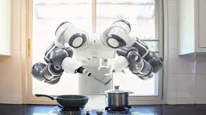 ROBOTIC ARMS ALSO MAKE ART IN THE KITCHEN