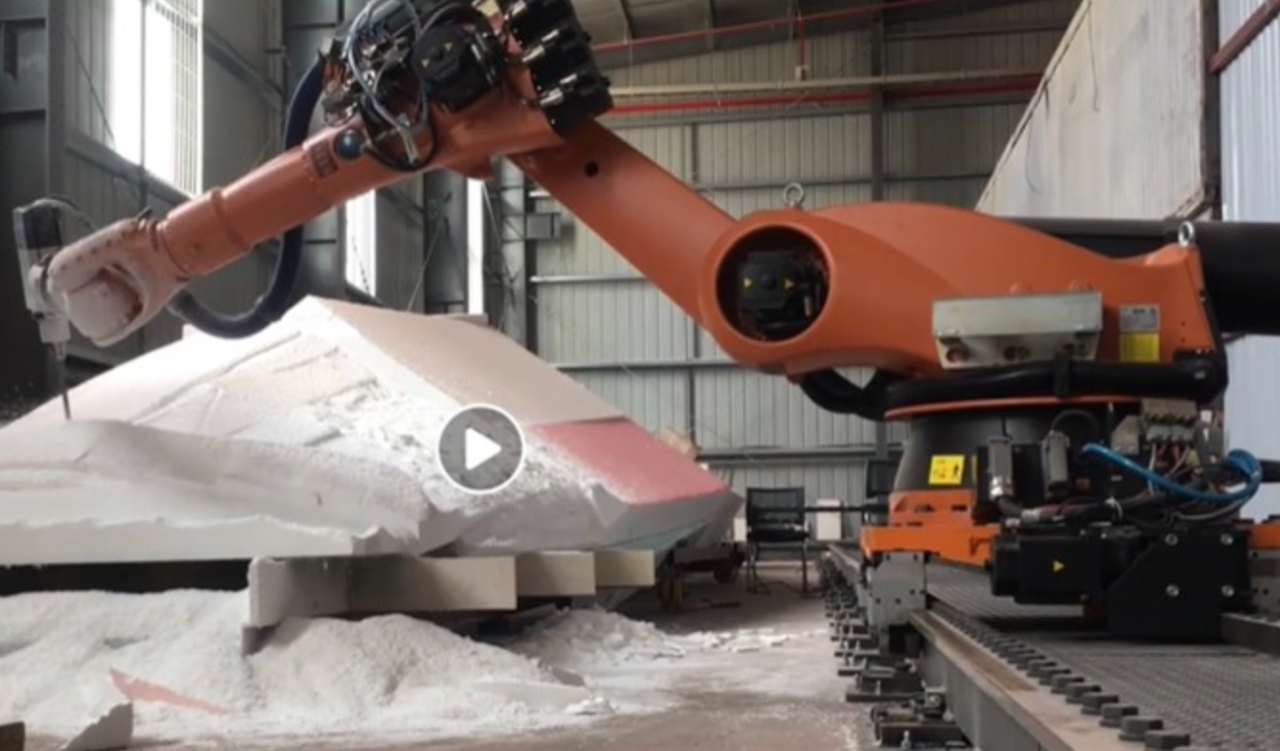 ROBOTIC MILLING APPLIED TO THE MANUFACTURE OF YACHTS