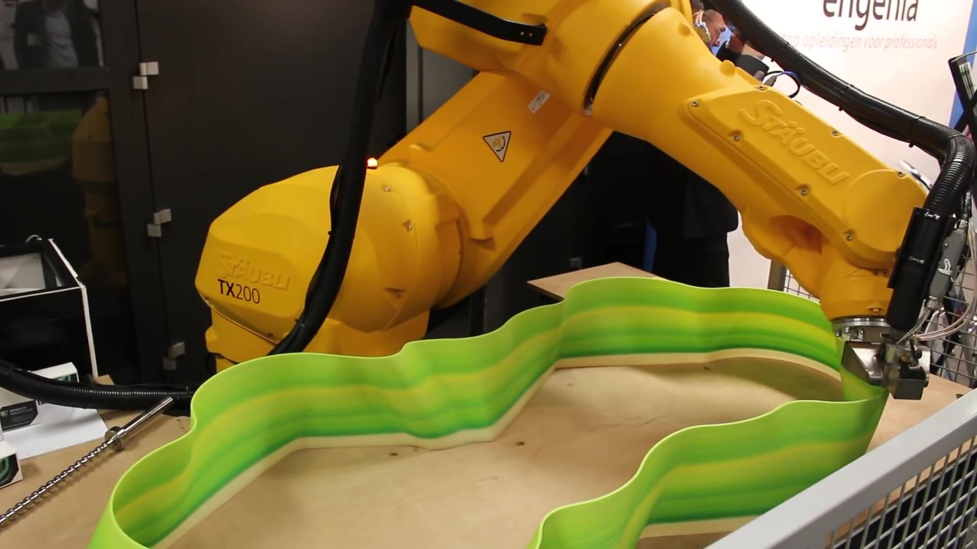 3D PRINTING WITH STÄUBLI ROBOTS