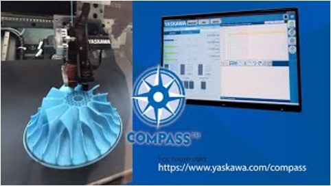 YASKAWA COMPASS IS DESIGNED TO BE AN INTUITIVE ADVANCED MANUFACTURING INTERFACE