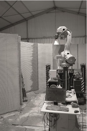 LET THE ROBOTS COME: THE WORLD'S FIRST HOUSE PRINTED IN 3D
